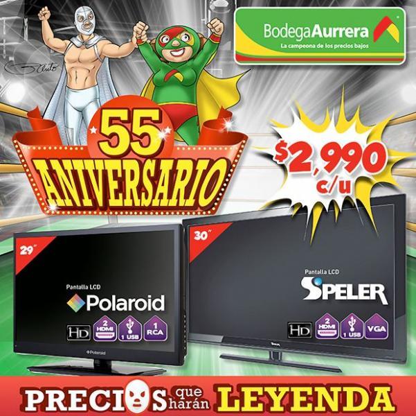 Folleto Bodega Aurrera 55 aniversario