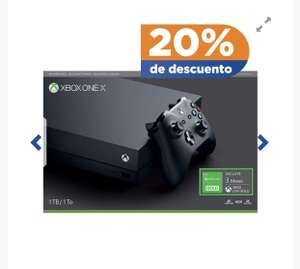 Chedraui: Xbox One X Refurbished con CitiPay