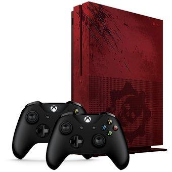 Linio: Xbox One S 2TB Edición Gears Of Wars 4 + 2 controles inalámbricos Reacondicionado (Pagando con Paypal y Citi Pay)