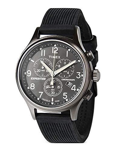 Amazon: Reloj Cronógrafo Timex Expedition Negro TW2R56100