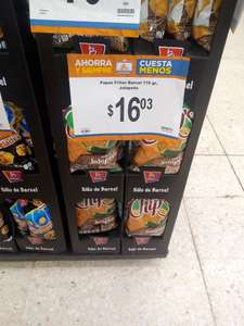 Chedraui: Chips barcel