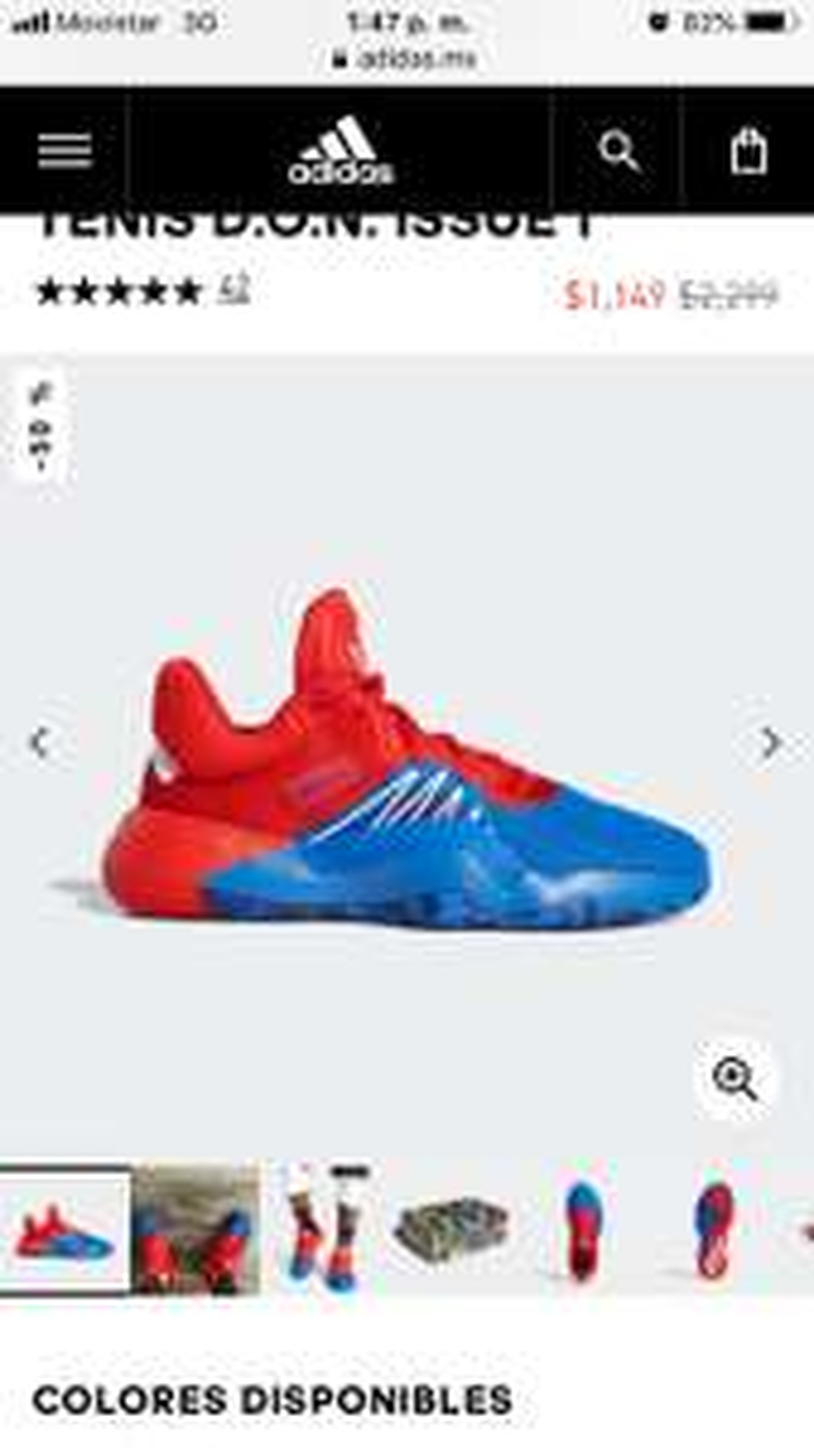 Adidas: Tenis Spiderman Marvel 50% Descuento
