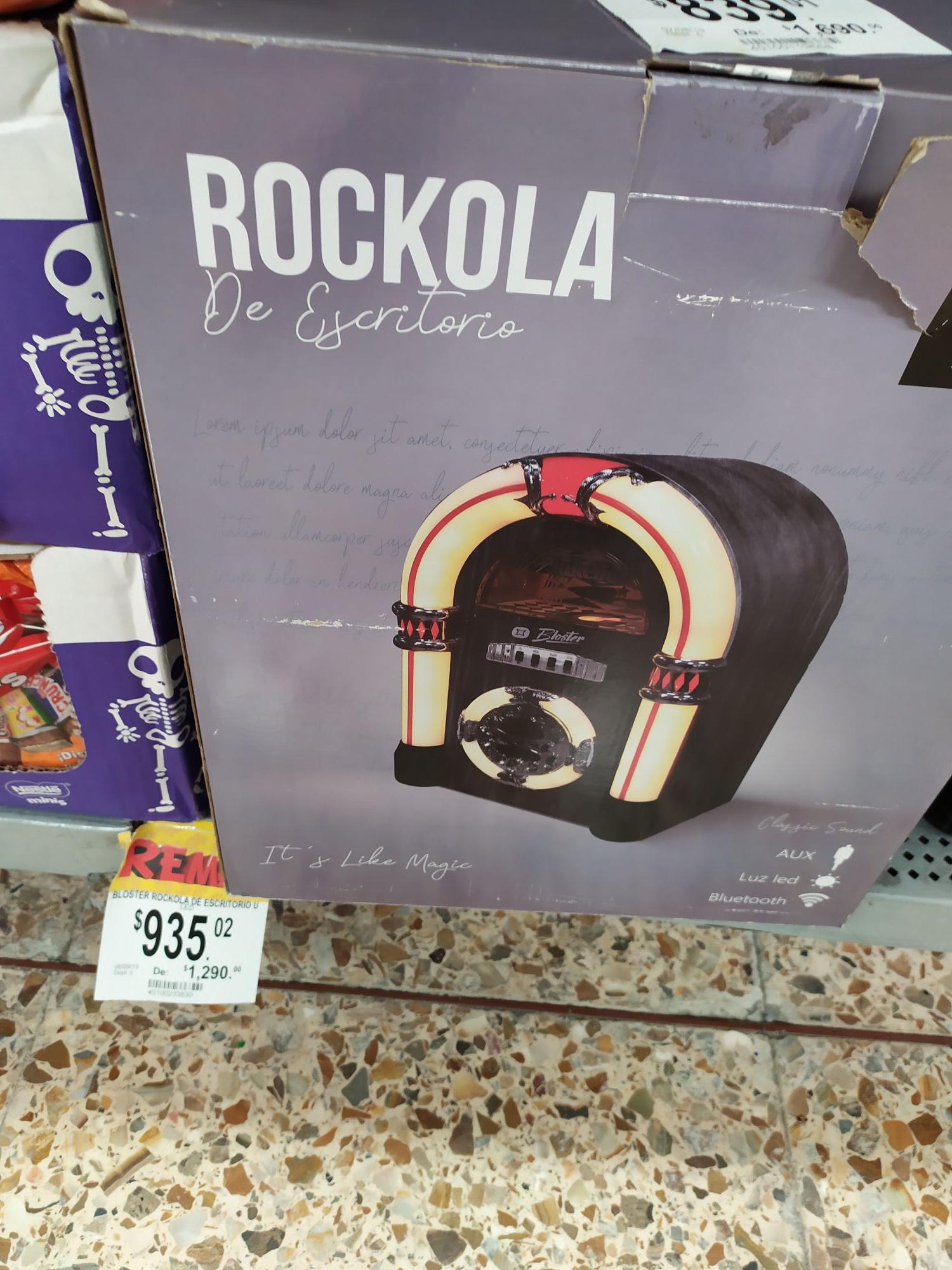 Bodega Aurrera: Rockola Bluetooth