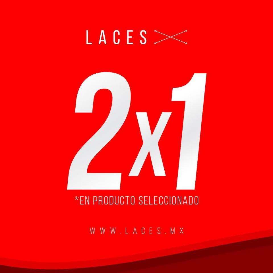 Laces: 2X1 en productos seleccionados