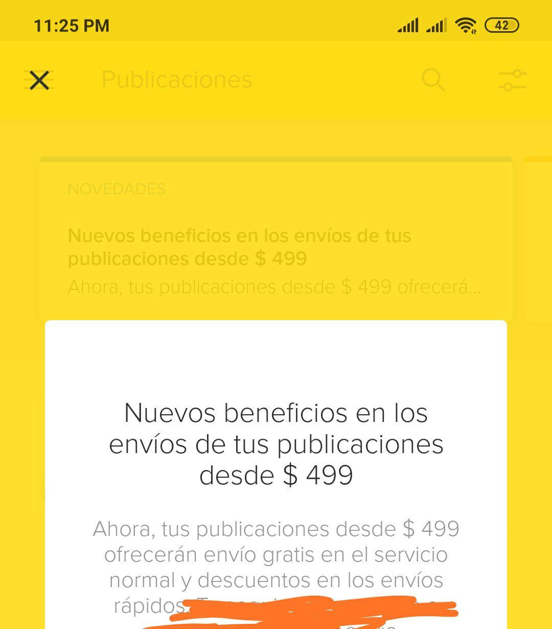 MercadoLibre: envio gratis en compras de $499 o más en todo para todos