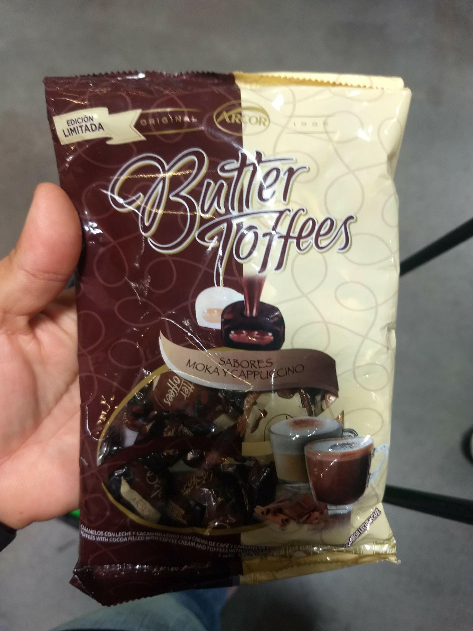 Bodega Aurrerá: Butter toffees de moka y capuchino en 7.02