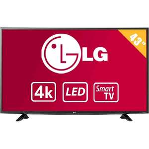 Walmart: TV LG 43 Pulgadas 4K Ultra HD Smart TV LED 43UF6400