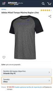Amazon: Playera Adidas