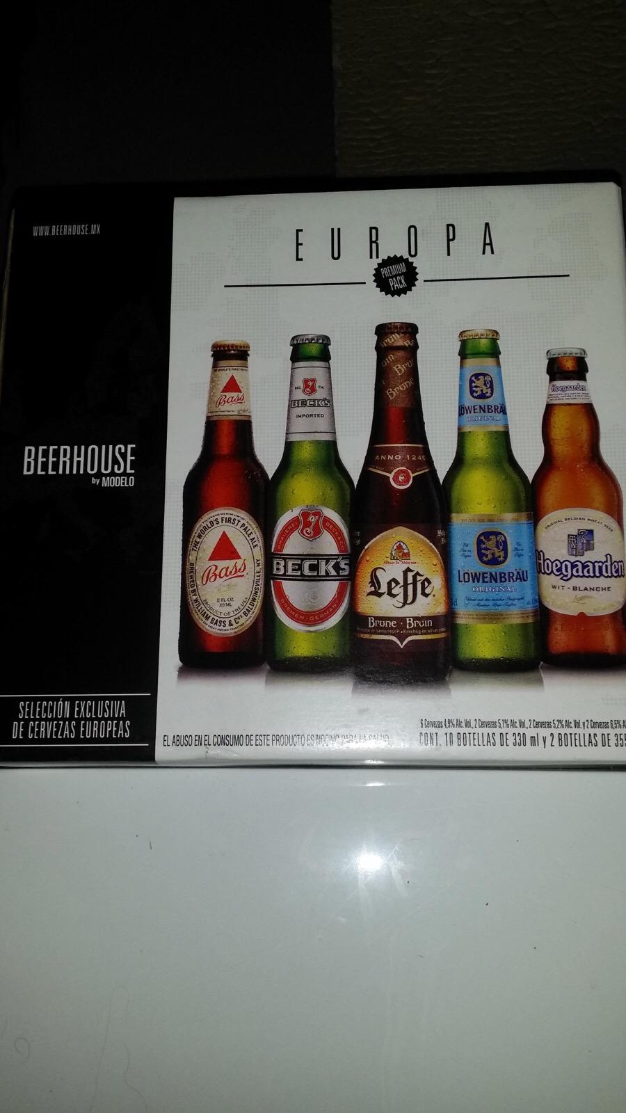 Sam's Club Boca del Río Veracruz: Selección de cervezas europeas