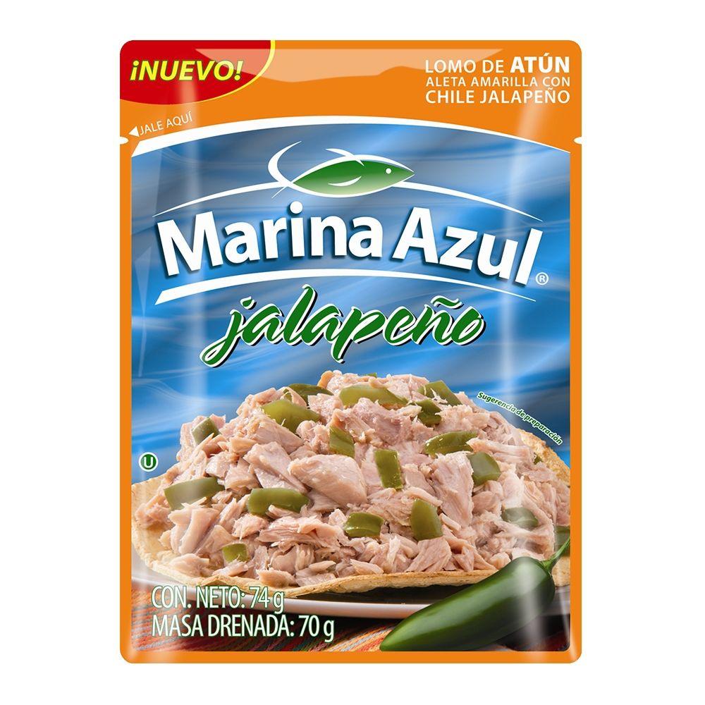 Walmart Super: 2 Paquetes de Atún Marina Azul con chile jalapeño x $20.00