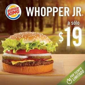 Burger King: Whopper Jr a $19