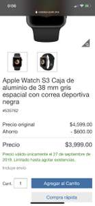 COSTCO: Watch S3 38mm pagando con Citibanamex Pay