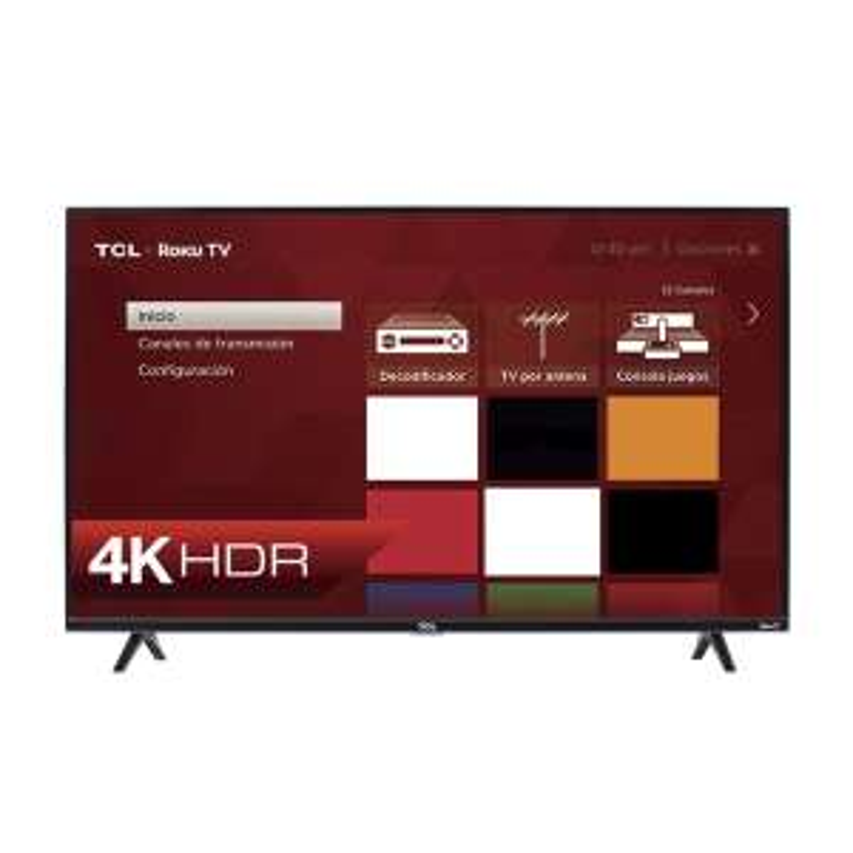 "Sears: Pantalla TCL 65"" 4K UHD Roku Smart TV (Con Citibanamex Pay)"