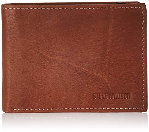 Amazon: Billetera de piel Steve Madden (Aplica Prime)
