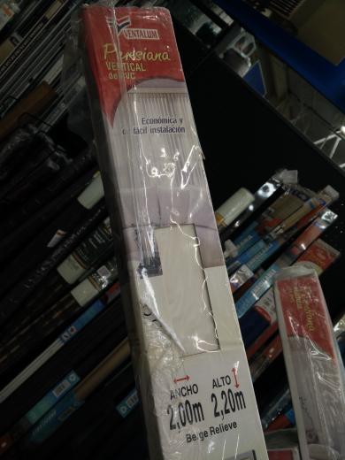 Walmart (MTY): Persianas 2 x 2.20 mts $100.01