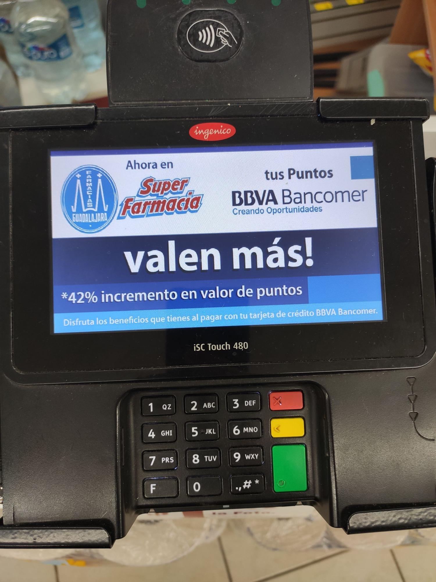 Tus puntos Bancomer valen más en Farmacias Guadalajara