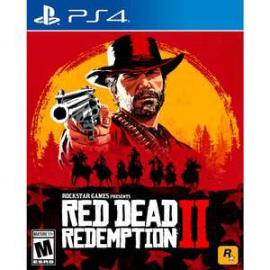 Best Buy: Red Dead Redemption 2 para PS4 o Xbox One a $ 599.00