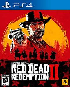 Amazon: Red Dead Redemption 2 para PS4