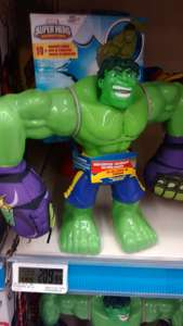 Woolworth: hulk y spiderman con sonido $210