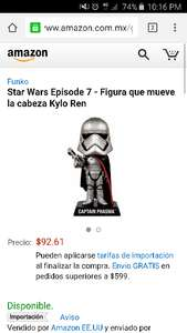 Amazon mx: Funkos bobble head star wars 18cm