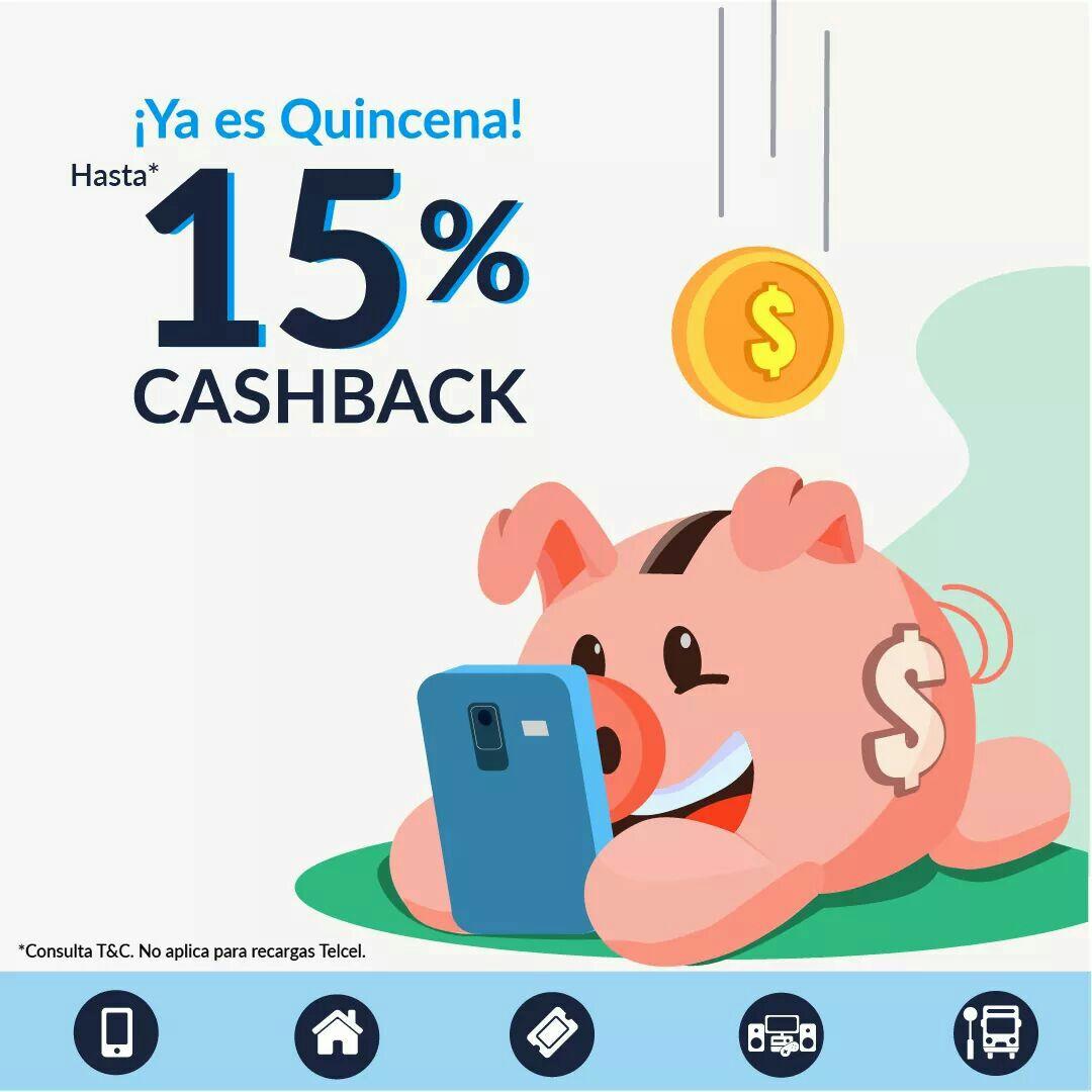 UnDosTres: Hasta 15% en cashback