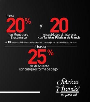 Venta Nocturna Fábricas de Francia el 31 de mayo y 1 de junio