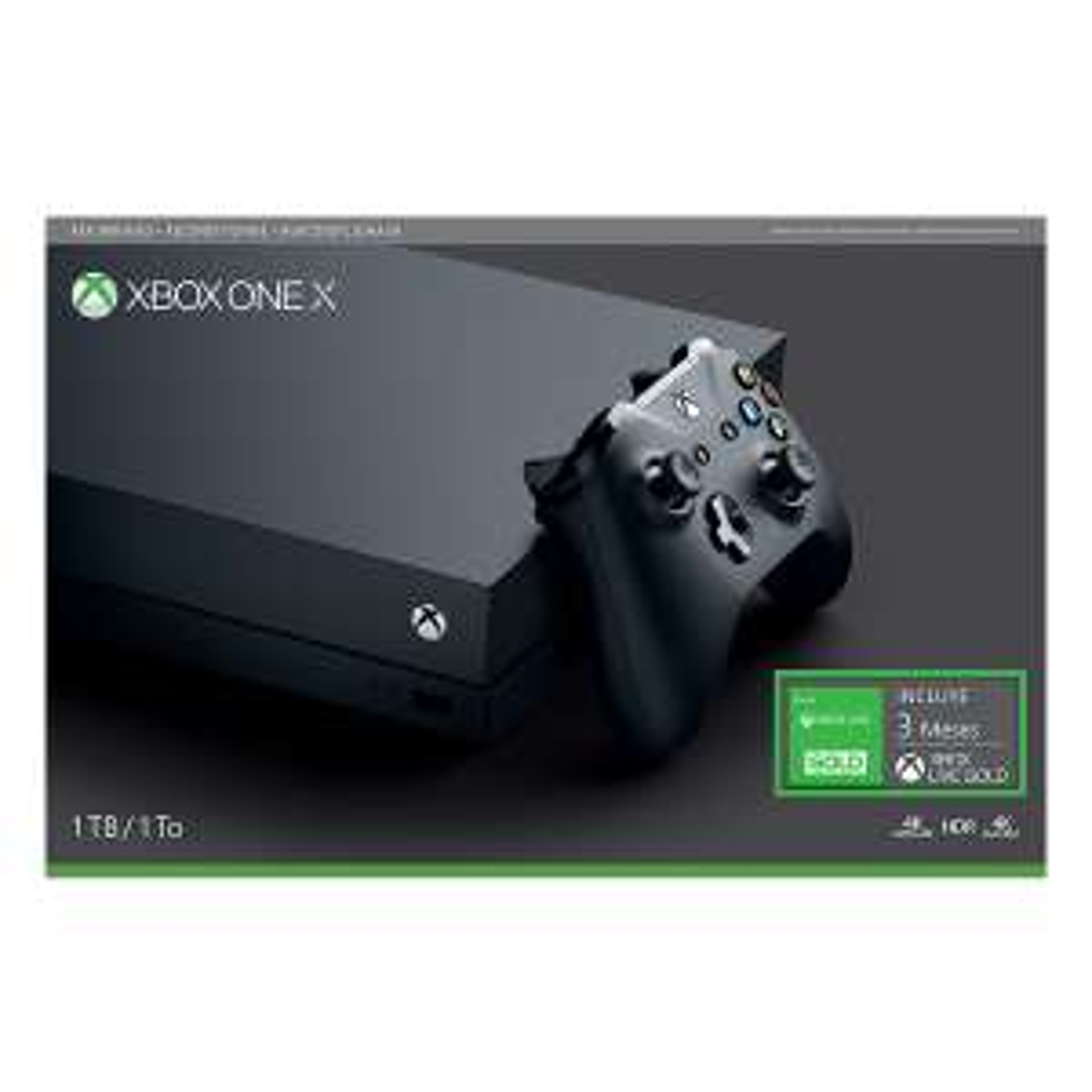 Chedraui en línea: Xbox one x 1tb + 3 meses Xbox live gold refubished