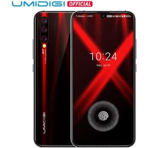 LINIO: Umidigi X 4G 128GB flame back + audifonos de regalo