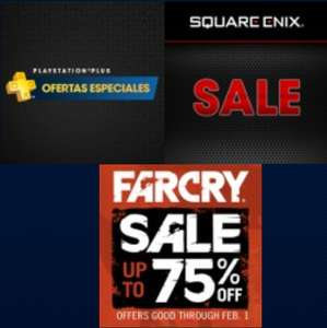 PlayStation Store: Square Enix Sale, FarCry Sale, Plus Specials