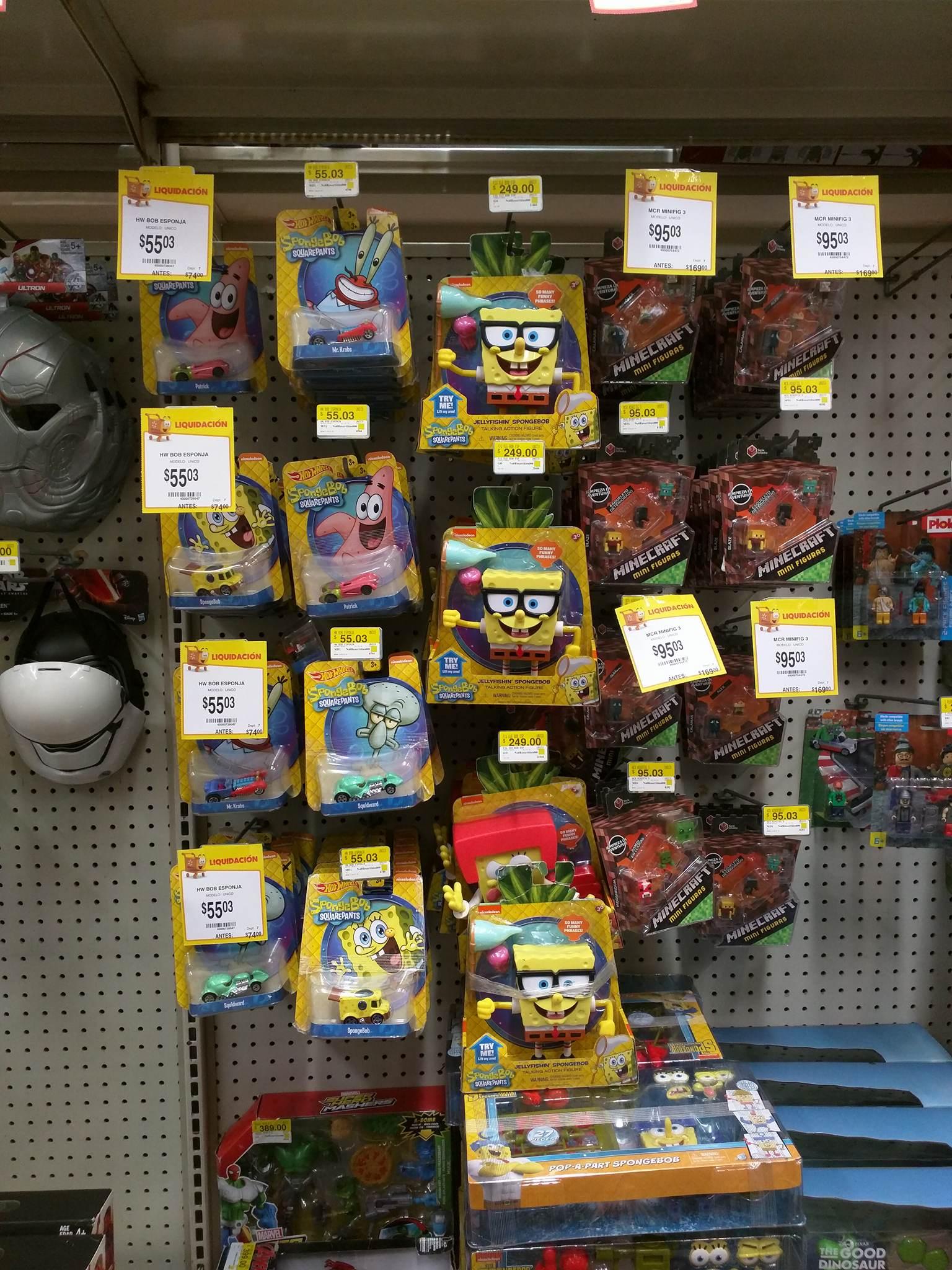Walmart - Varias liquidaciones en juguetes -Centro Sur Gdl. Ej. Rayo McQueen $665.03