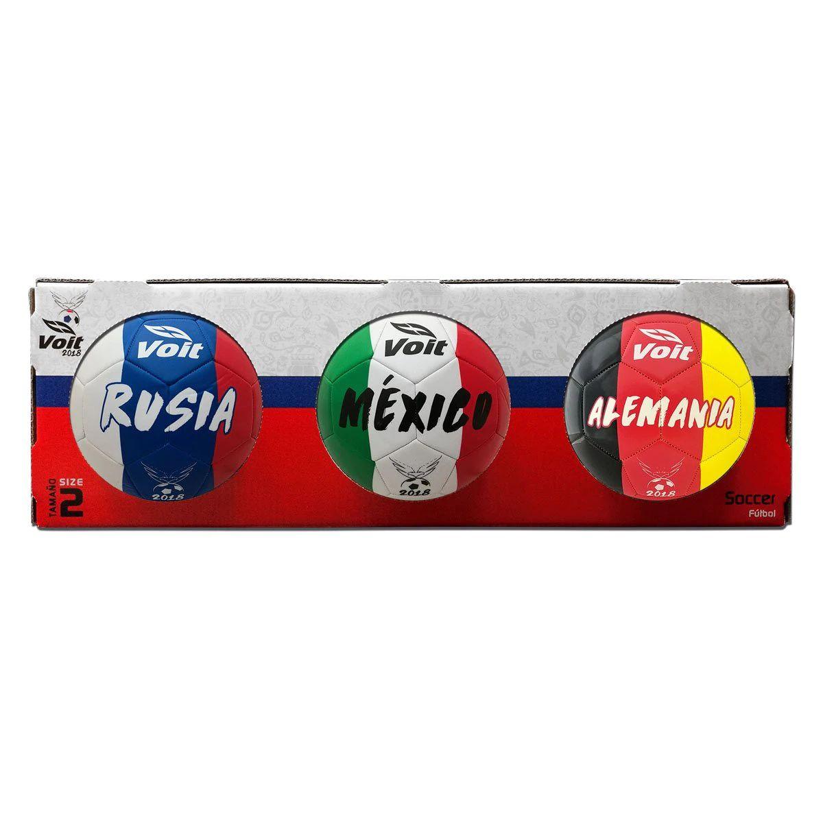Sears: Balón Mini Soccer Pack Voit