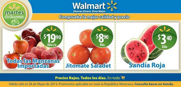 Martes de frescura Walmart mayo 28: sandía $3.40 y más
