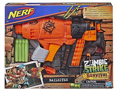 Amazon Nerf Lanzador Nailbiter Zombie Strike Lanzador