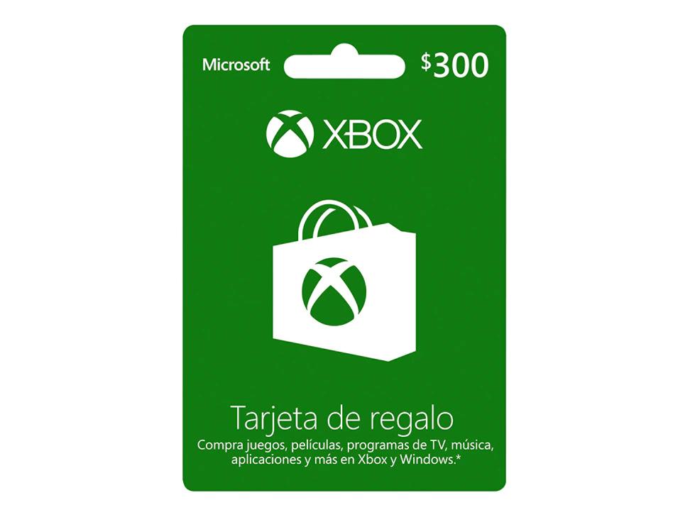 Liverpool: Tarjeta Xbox Live 300 MXN