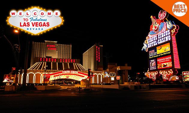 Códigotime: vuelo a Las Vegas y 4 noches (de GDL, 31 de enero)