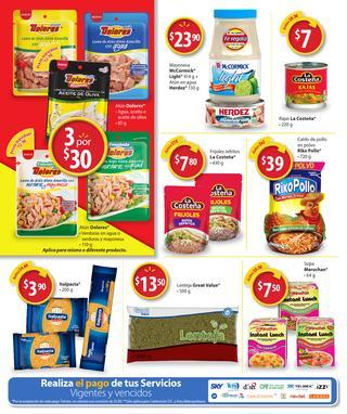 Folleto de ofertas Walmart al 14 de Febrero: variedad de cereales a $45.90 y más