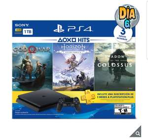 COSTCO: PS4 Hits 1TB + 3 meses PS PLUS (Pagando c/PayPal)