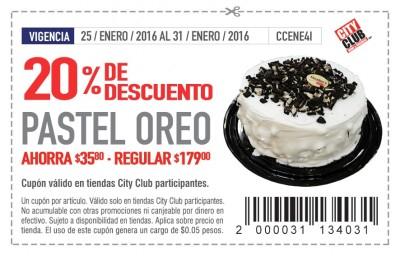 Soriticket: Pastel Oreo con 20% de descuento