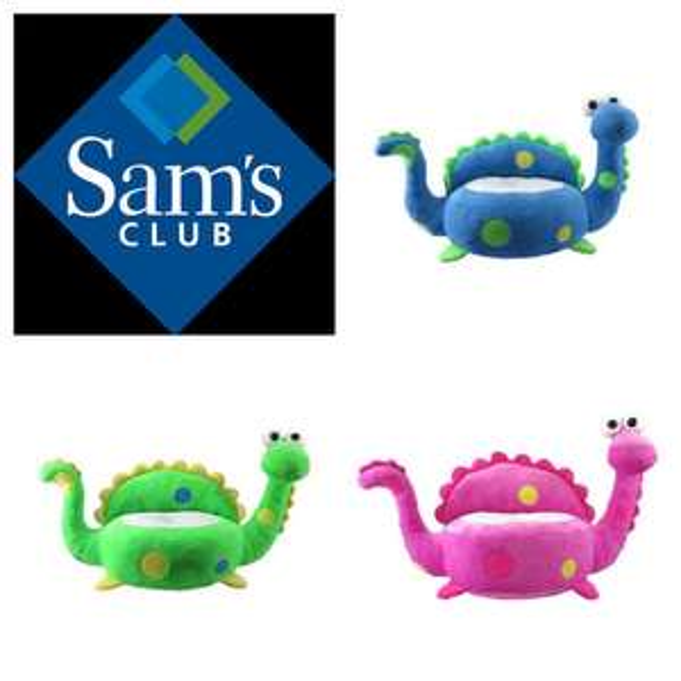 Sam's Club:  sillón de dinosaurios ya bajaron