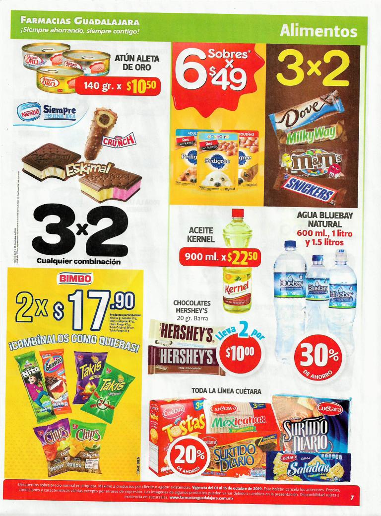Farmacias Guadalajara chocolate Snickers 48gr en 3X2