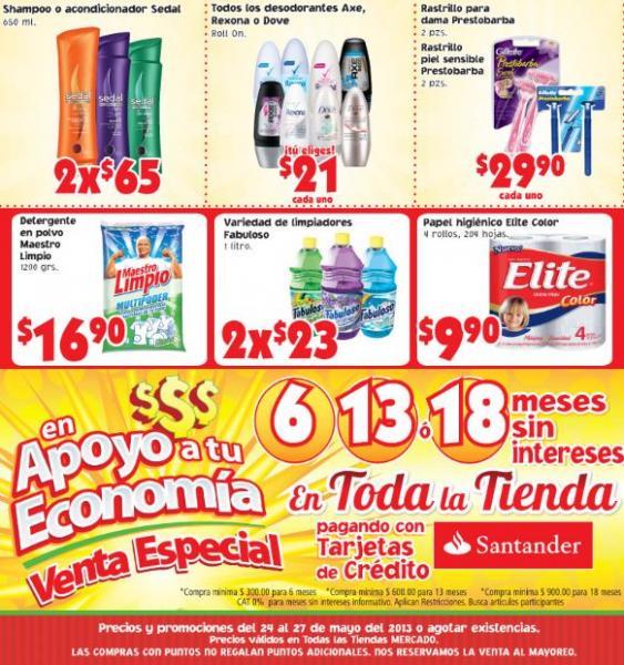 Mercado Soriana: 20% en monedero en tequilas, brandys y whiskys y más
