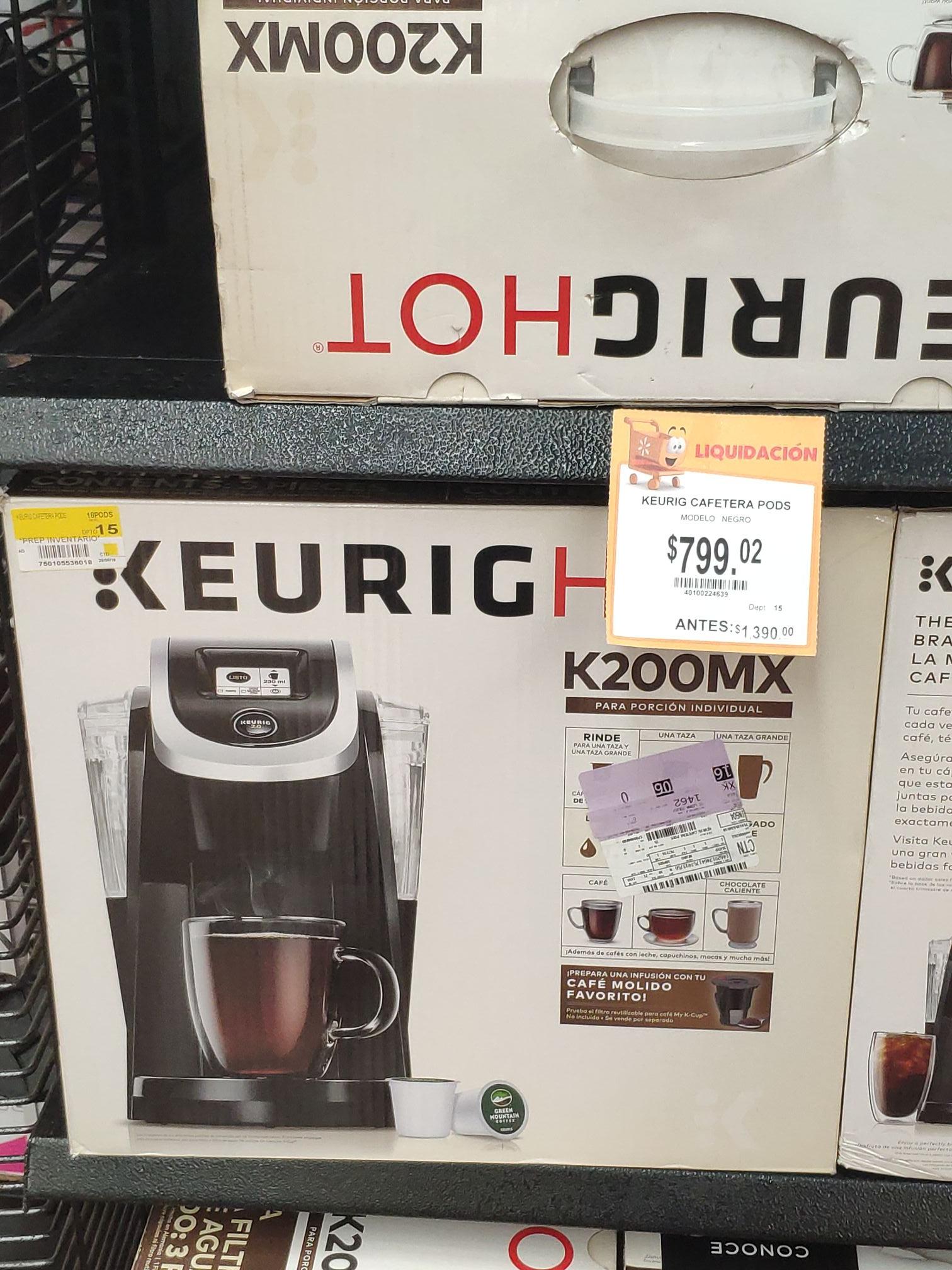 Walmart: Cafetera Keurig - Liquidación y Licuadora T-fal InfinityForce 10