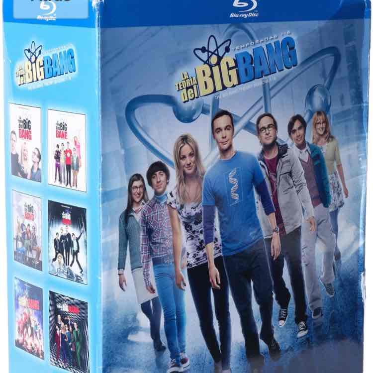 Amazon MX: La Teoría del Big Bang, Temporadas 1-6 [Blu-ray]