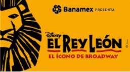 2x1 en fechas seleccionadas del Rey León (DF)