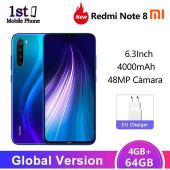 Linio App: Redmi note 8 4gb/64gb versión global