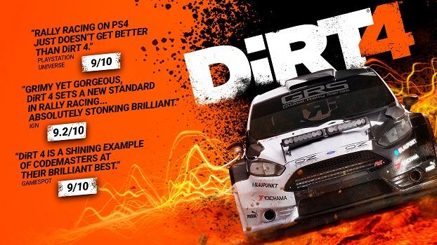 Steam: Dirt 4