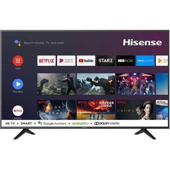 "Linio app: Pantalla Hisense 58"" 4k Android TV. Bluetooth, Google home y Alexa.."