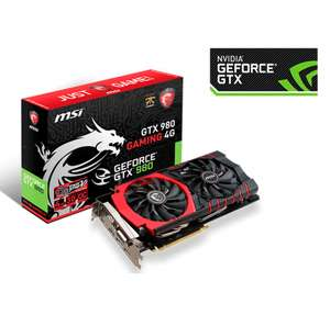 OrbitalStore: tarjeta de video MSI GTX 980 4Gb