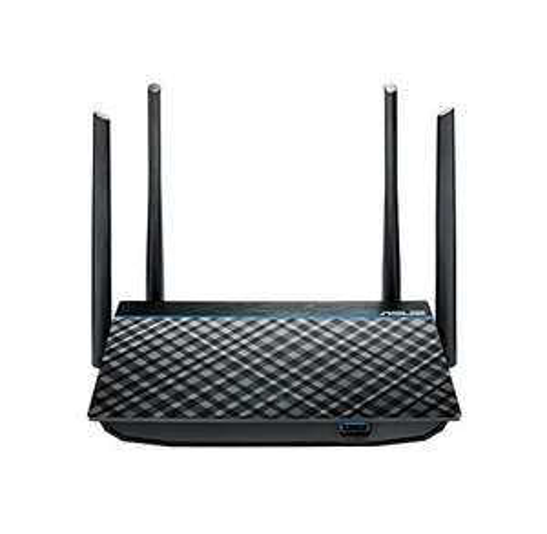 Amazon: Asus Enrutador inalámbrico 3 en 1 (RT-N12).1, 4 Puertos  Gigabit LAN, Negro, AC1300