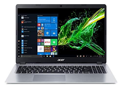 """Amazon Acer Aspire 5, 15.6"""" , AMD Ryzen 3 3200U, 4GB DDR4, 128GB SSD, Teclado retroiluminado, Windows 10 en Modo S"""